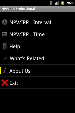 NPV IRR Professional