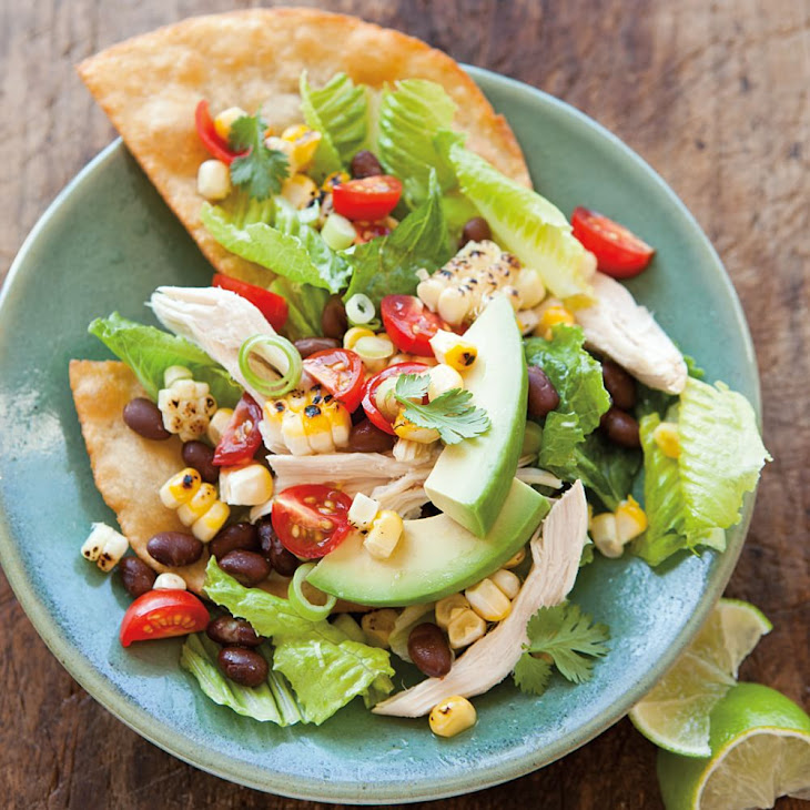 Chicken Tostada Salad Recipe | Yummly