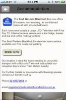 Screenshot of Blackbutt Hotel
