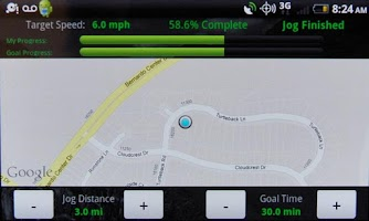 Screenshot of Pace Keeper