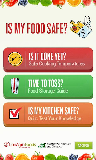 Is My Food Safe