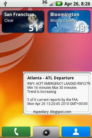 Air Traffic Control Status USL