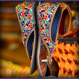 shoes by Prasanta Das - Artistic Objects Clothing & Accessories ( shoes, embroidered,  )
