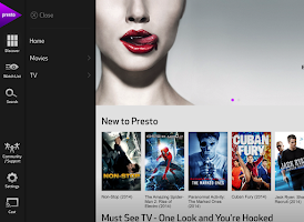 Screenshot of Presto. Anytime