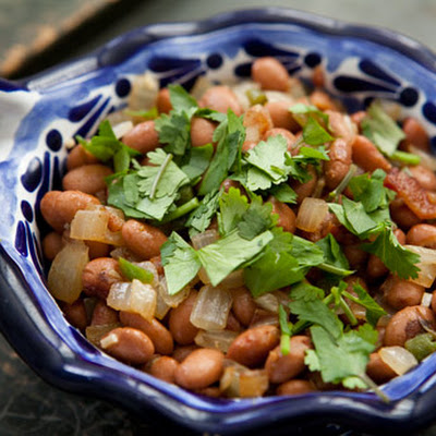 Pinto Beans with Bacon and Jalapeños