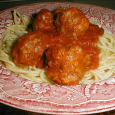 Tender Crock Pot Meatballs & Sauce