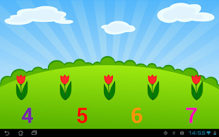 Screenshot of Kids Numbers and Math FREE