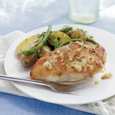 Seared Chicken Breasts with French Potato Salad