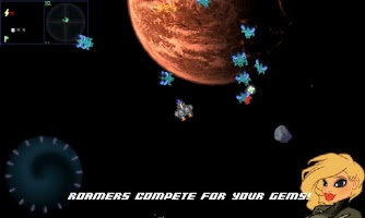 Screenshot of Sinister Planet - Asteroids