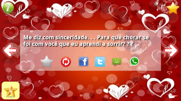 Screenshot of Frases Românticas Amor SMS