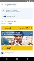 Screenshot of Schiphol Amsterdam Airport