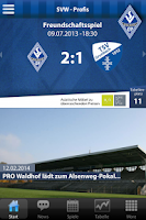 Screenshot of SV Waldhof Mannheim