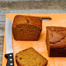 Butternut Squash Maple Walnut Flax Bread