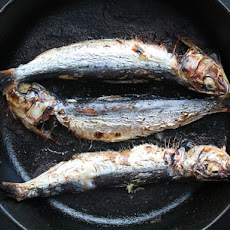 Marinated and Broiled Sardines