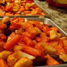 Orange-Scented Roasted Root Vegetables