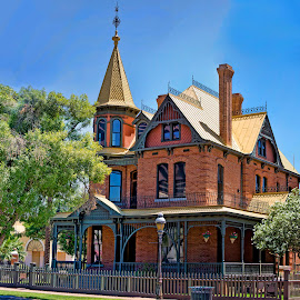 Rosson House by Lynne Parrish - Buildings & Architecture Public & Historical ( houses, arizona, historical, old architecture, phoenix, rosson house, Urban, City, Lifestyle )
