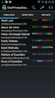 Screenshot of Gnu Privacy Guard