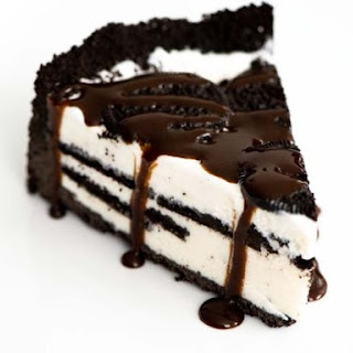 Frozen Cookies n' Cream Pie