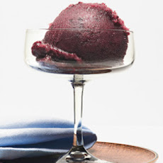 Fresh Grape and Champagne Sorbet