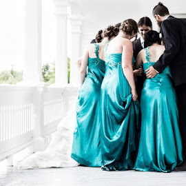 Wedding Party by Ashley Boutin - Wedding Groups ( colour, wedding photography, wedding, wedding party )
