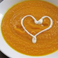 Creamy Carrot With Curry Soup