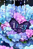 Screenshot of Hydrangea LiveWallpaper Trial