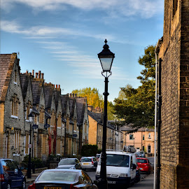 Ripon terrace colour by Nic Scott - City,  Street & Park  Neighborhoods ( street, street photography )