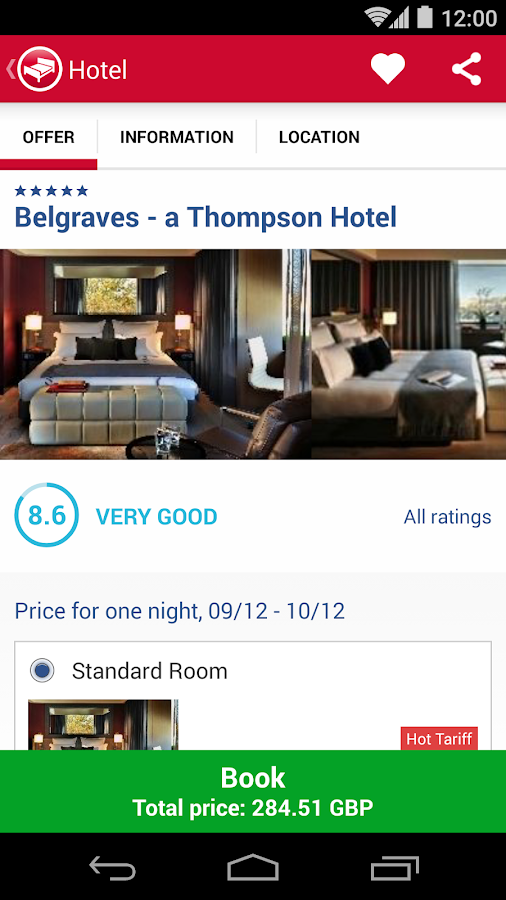 Hotel Search HRS (New) Screenshot 4