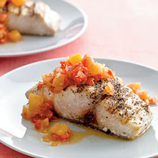 Mahimahi with Pineapple Chutney