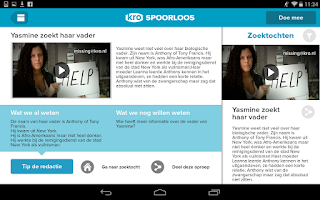 Screenshot of KRO Spoorloos