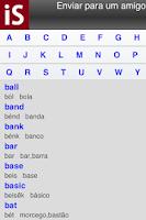 Screenshot of 1000 Palavras em Inglês