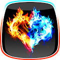 App Fire and Ice Live Wallpaper APK for Kindle