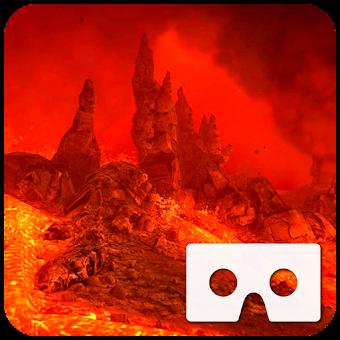 VR Volcano Flythrough