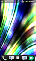 Screenshot of Abstract stripes FULL LWP