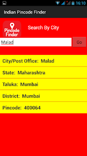 Indian Pincode Finder - screenshot
