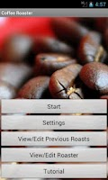 Screenshot of Coffee Roaster