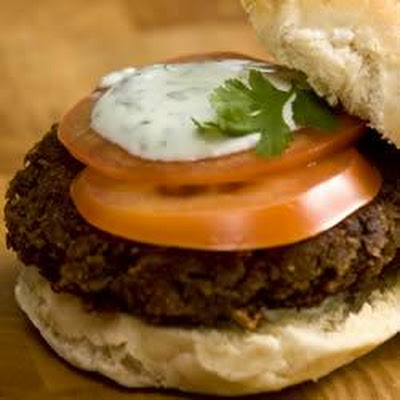 Stuffed Greek Burgers