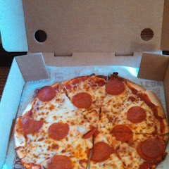 GF pizza to go.
