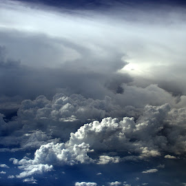 Storms Ahead by Ken Stringer - Landscapes Cloud Formations ( clouds, cumulus, sky, weather, cloudscapes, cloudscape, cloud )