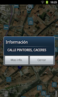 Screenshot of Cáceres View