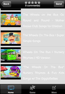 The Wheels On The Bus - screenshot