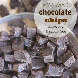 Homemade Chocolate Chips | Carob Chips