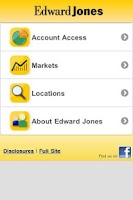 Screenshot of Edward Jones Mobile