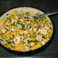 Shrimp and Mango Appetizer