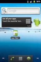 Screenshot of App Filter Test