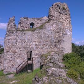 Castle ruins Přimda by Renata Horáková - Buildings & Architecture Statues & Monuments