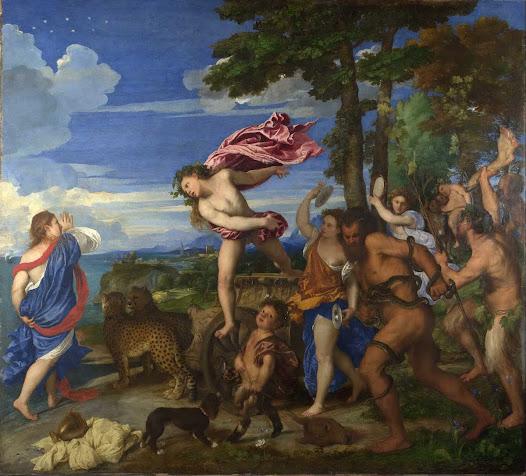 Tiziano, Bacco e Arianna