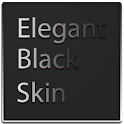 Elegant Black Keyboard Skin icon