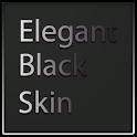 Elegant Black Keyboard Skin