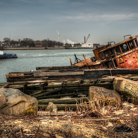 life & death by Lance Reha - Transportation Boats